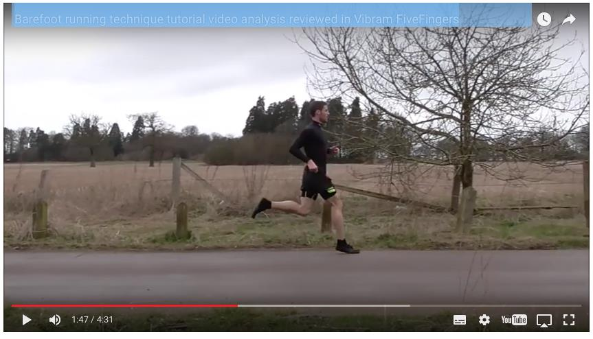 barefoot running done wrong